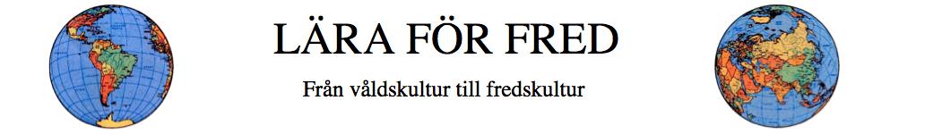 Lära för Fred